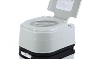 Campingaz Toilettes Traitement Antimicrobien Siege Tasse WC Chimique Portable